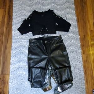 Express Minus the Leather Legging
